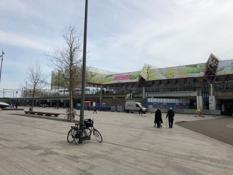 Steigerdoeken Almere Station